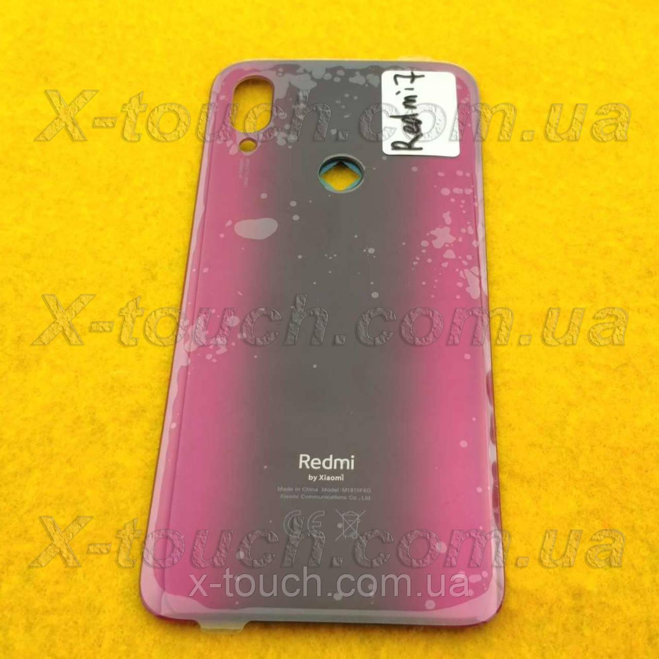 Xiaomi Redmi 7 задняя крышка для телефона, красного цвета.