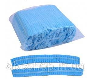Шапочка одноразовая голубая (100 шт)