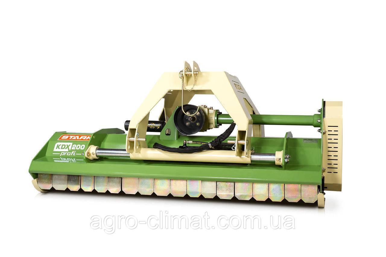 Мульчирователь KDX 220 Profi STARK c гидравликой (2.20 м. молотки) (Литва)