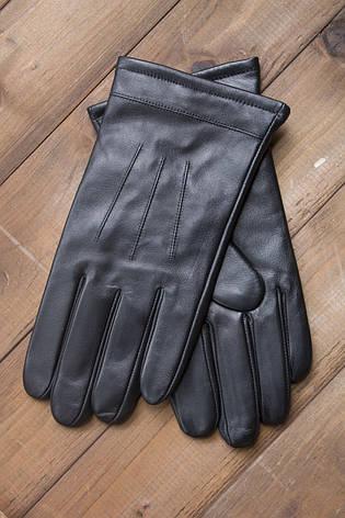 Мужские кожаные перчатки  1-932s1, фото 2