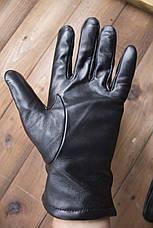 Мужские кожаные перчатки  1-932s1, фото 3