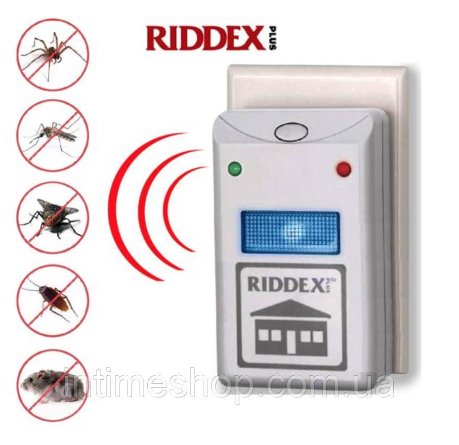 🔝 Pest Repeller, от компании, Riddex Plus, отпугиватель мышей, средство от тараканов , насекомых | 🎁%🚚