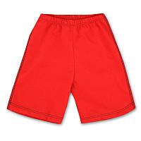 Детские шорты для мальчика красные, на рост - 80,92, 104, 116 см. (арт.1-28_красный)