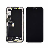Дисплей для APPLE iPhone X с чёрным тачскрином (GX-AMOLED)