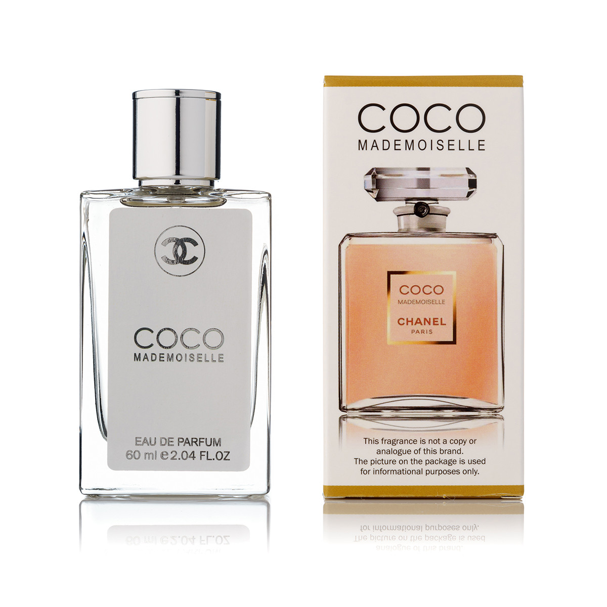 60 мл мини парфюм Coco Mademoiselle Parfum Chanel -(Ж)