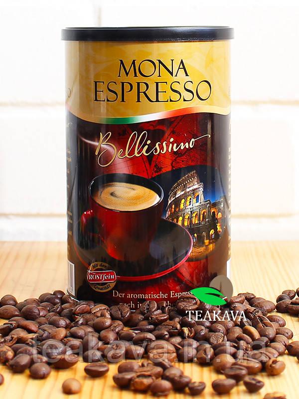 Кофе молотый Rostfein Mona Espresso Bellissimo, 250 грамм (70/30)