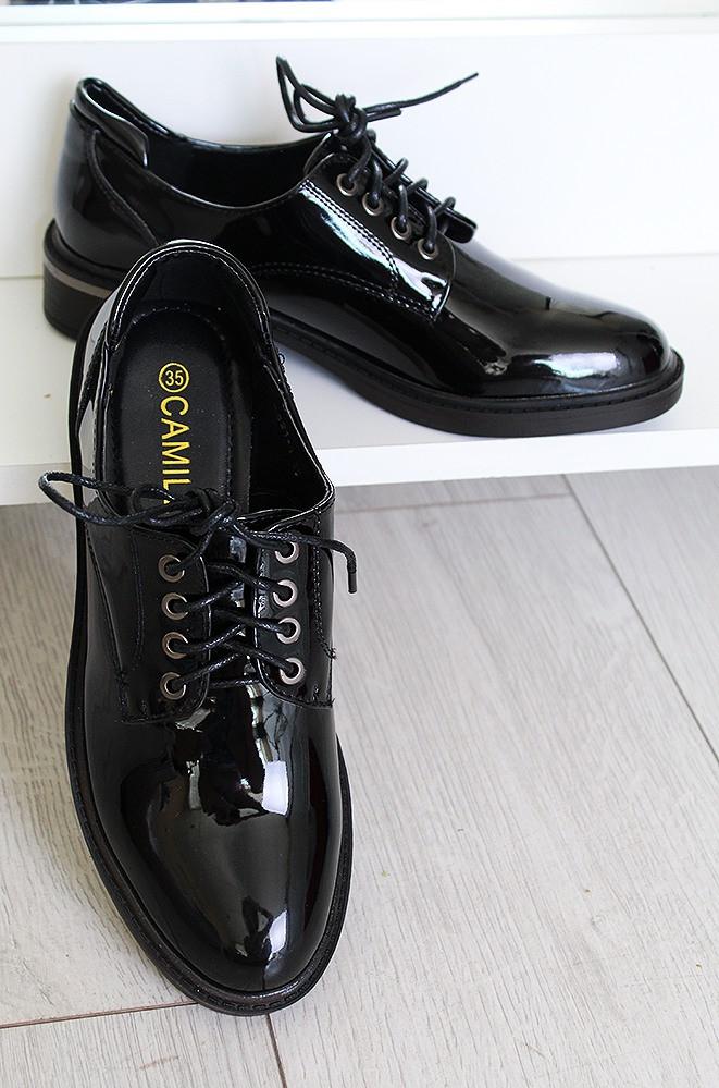 Туфли женские черные А321-1