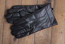 Мужские кожаные сенсорные перчатки  939s1, фото 3