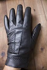 Мужские кожаные сенсорные перчатки  939s1, фото 2