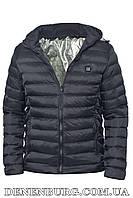 """Куртка чоловіча демісезонна з підігрівом від """"Power bank"""" RLZ 19-M11 темно-синя"""