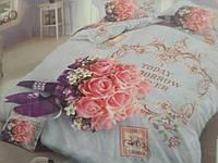 Постельное белье с 5D рисунком двухспальное