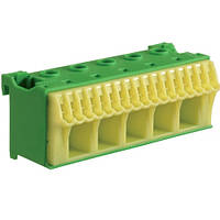 Блок PE-клемм 225x16 мм2 + 17x4 мм2 Hager QiuckConnect KN22E 90мм