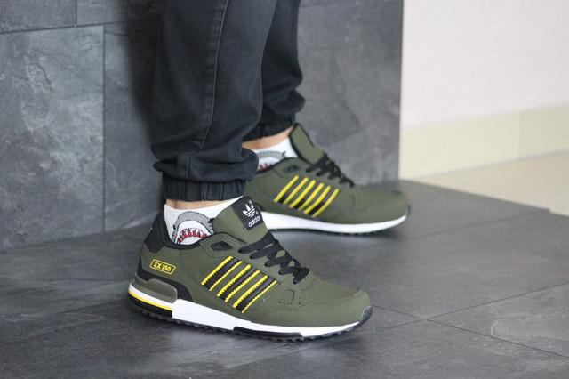 Мужские кроссовки Adidas Мужские кроссовки Adidas (весна-осень, мужские, замша, черные)