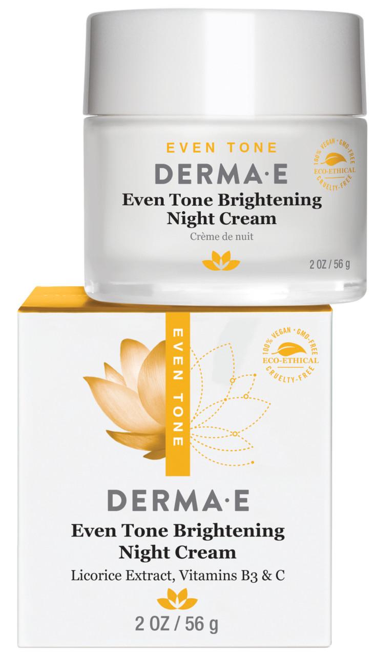 Осветляющий ночной  крем Evenly Radiant® и витамином С Derma E