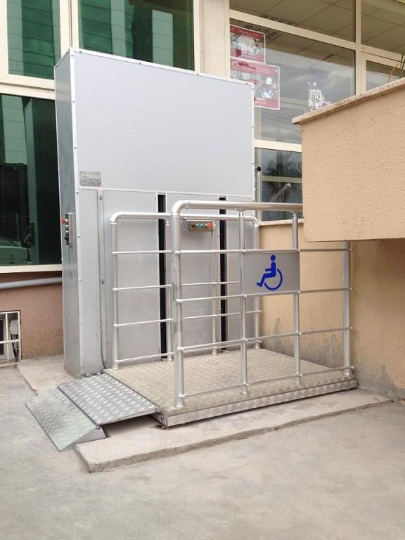 Подъемник для инвалидов.