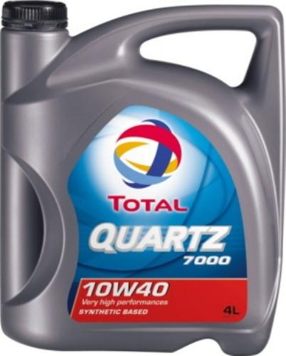 Моторне масло Total QUARTZ 7000 10W-40 4L