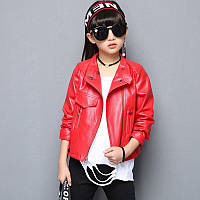"""Куртка косуха для девочки марки """"Justy"""" от 4 до 12 лет, остался только размер 110"""