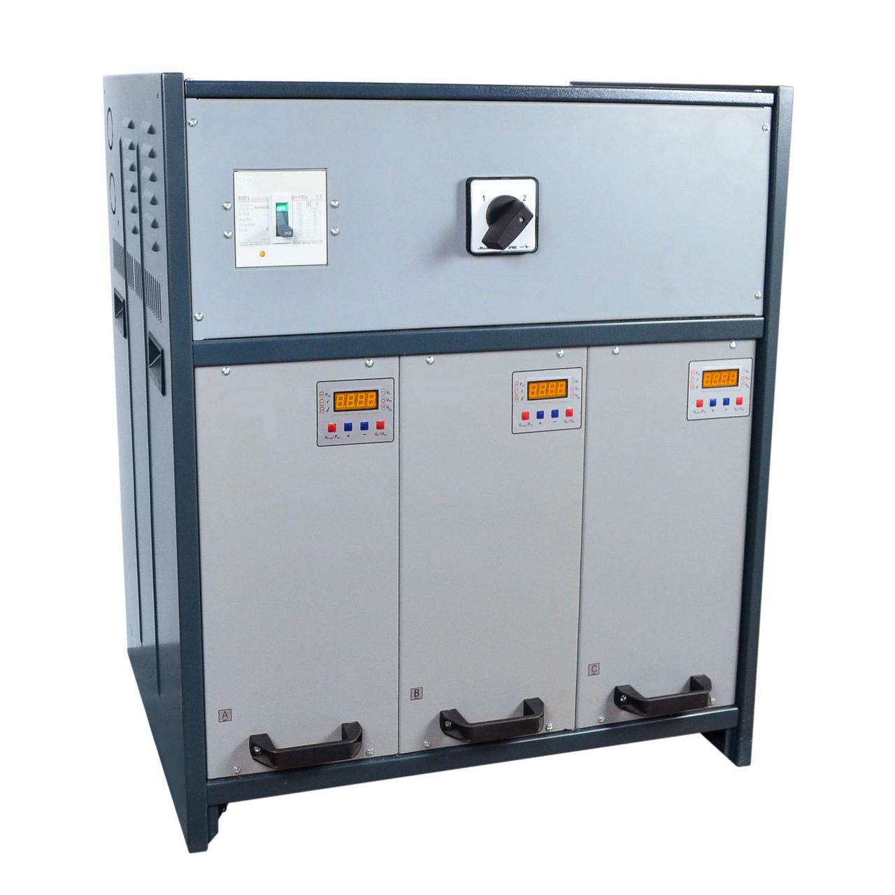Стабилизатор NNST-3х27 кВт CALMER (INFINEON) 125А WEB