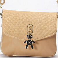 Женская сумка - клатч Gilda Tohetti  цвета кофе с молоком