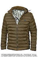 "Куртка мужская с системой подогрева от ""Power bank"" RLZ 19-M11 хаки, фото 1"