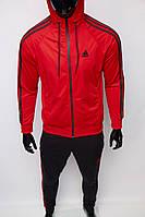 Костюм спортивный мужской Adidas 8905-601 красный реплика