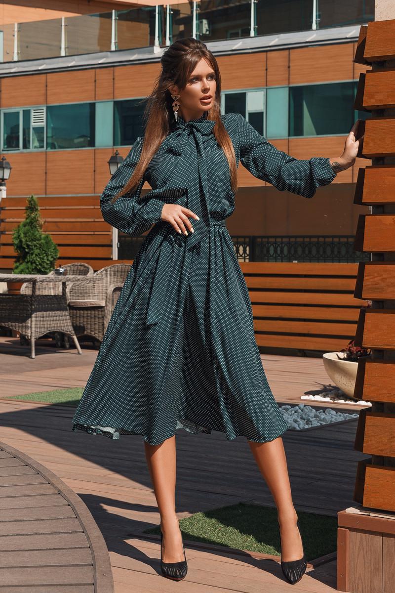 Платье LiLove 704-2 42-44 зеленый