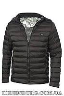 """Куртка чоловіча демісезонна з підігрівом від """"Power bank"""" 19-M11 чорна, фото 1"""