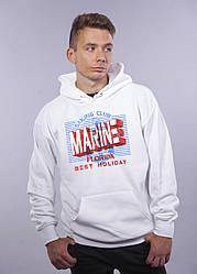 """Толстовка белая LOYS """"Marine"""" XXL"""