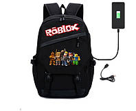 Рюкзак Роблокс Roblox портфель с принтом, фото 1
