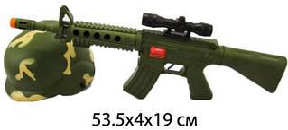 Военный набор Ружье и каска