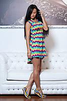 Платье Валентино шлейф из ткани трикотаж