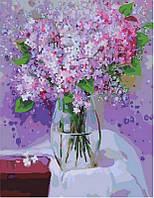 Картина по номерам Сиреневый букет, 40x50 см, Brushme (Брашми)