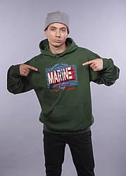 """Толстовка тёмно зелёная LOYS """"Marine"""" XXL"""