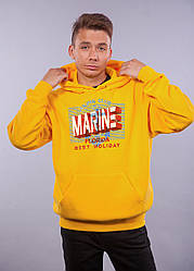 "Толстовка жёлтая LOYS ""Marine"" XXL"