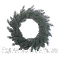 Вінок литий з пластикових гілок Альпійський голобуй