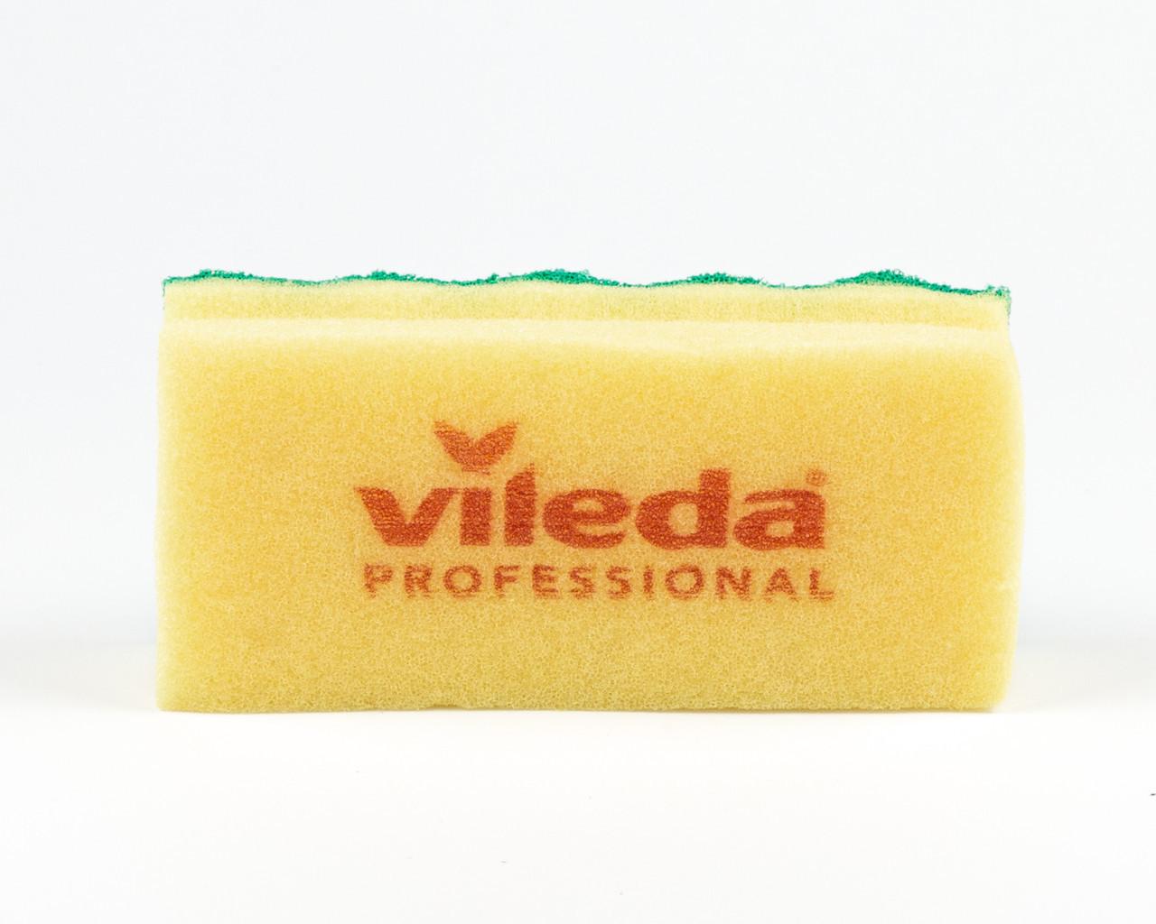 Губка Пур Актив желтая, 7х15 см, Vileda