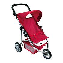 Трехколесная коляска для кукол красная, Bino. BINO (82914)