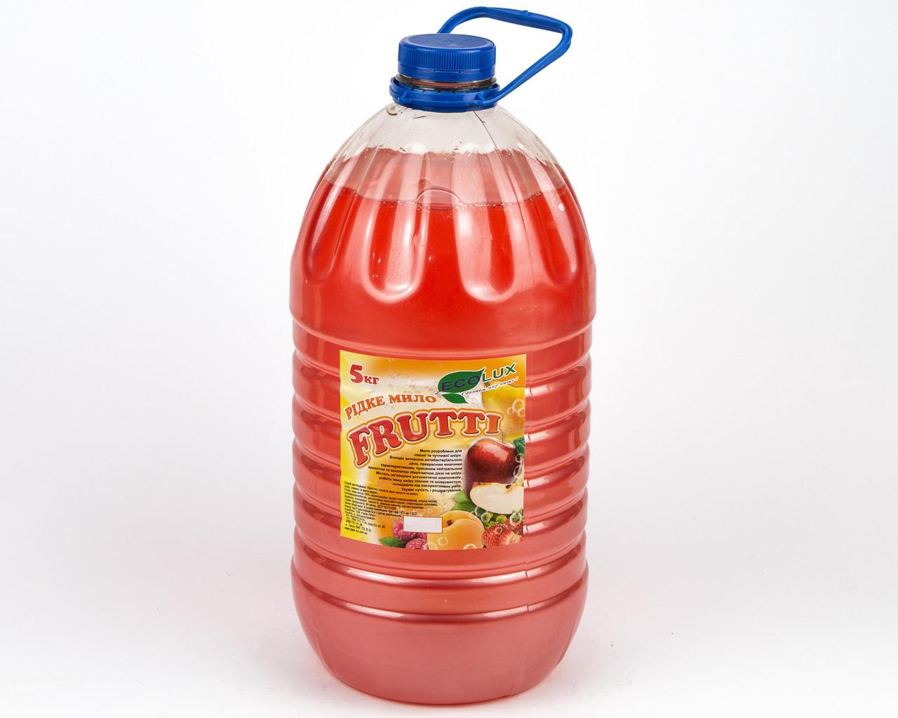 Жидкое мыло Фруктовое микс, 5 л