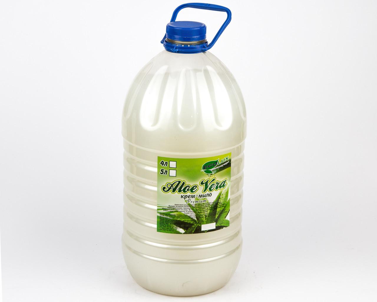 Жидкое крем-мыло Алоэ вера, 5л, PRO3
