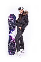 Зимовий лижний комбінезон двосторонній з сумкою і рукавицями XS-XL, фото 2