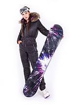 Зимовий лижний комбінезон двосторонній з сумкою і рукавицями XS-XL, фото 3