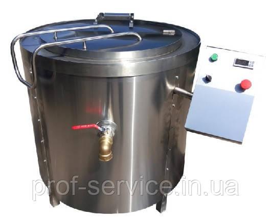 Котел пищеварочный с мешалкой КПЭ-250 МЭ-02 масляный нагрев.