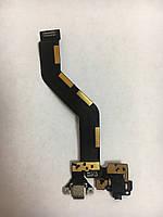 Шлейф зарядки Meizu Pro 6 Black Original Б/У