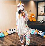 (S, M, L, XL) Пижама кигуруми звездный единорог v105, фото 2