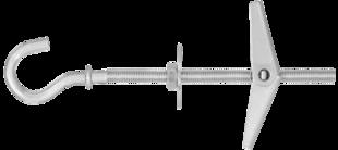 SPO Складной стальной дюбель с крюком для крепления в подвесных потолках
