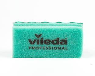 Губка Пур Актив зеленая, 7х15см, Vileda