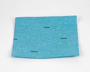 Салфетка - губка Веттекс целлюлозно, 17х20 см, голубая, Vileda