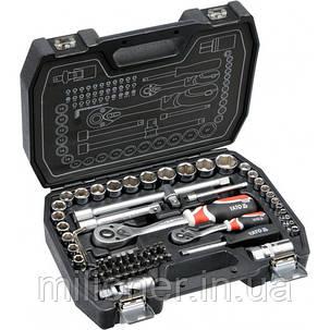 Набор инструмента Yato 72 предметов YT-38782, фото 2