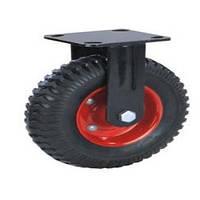 Усиленное неповоротное колесо
