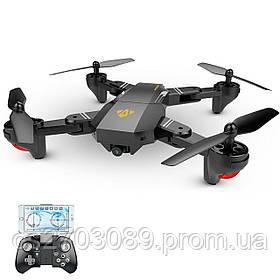 Квадрокоптер TIANQU Visuo XS809HW с WIFI 720p камерой Чёрный